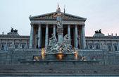 Austrian parliament, Vienna — Stock Photo