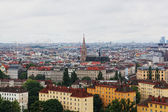 View of Vienna from big wheel height in park Prater — Stock Photo