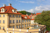 Czech republic, Prague. historical part of the city in the summer — Stock Photo