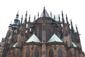 St. Vitus Cathedral in Prague, Czech Republic — Stock Photo