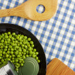 Зеленый горошек — Стоковое фото