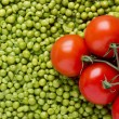 Tomatoes and Peas — Foto Stock