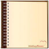 Background wedding ceremony — Stock Vector