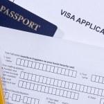 Visa Application — Stock Photo #11734689