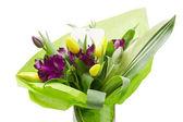 Purple Alstroemeria Flowers — Stock Photo