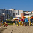Children's play area. City Novouralsk. Sverdlovsk region. — Stockfoto #11168572