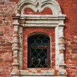 Window in an old monastery — Stock Photo