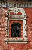 Window in an old monastery — Fotografia Stock