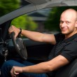 Stock Photo: Driving