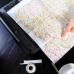 el yol haritası — Stok fotoğraf