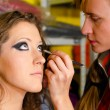 makeup artist — Stock Photo
