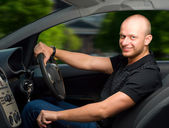 Driving — Stock Photo