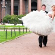 Just married couple — Stock Photo #10785411