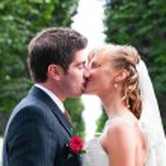 właśnie małżeństwem — Zdjęcie stockowe