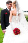 Portrait de mariage — Photo