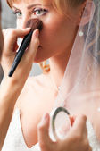 Wedding make-up — Stock Photo