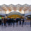 Oriente train station at Lisbon — Stock Photo
