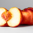 Ripe peach — Stock Photo