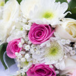 Bouquet of fresh flowers - Stock Photo