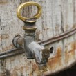 Old brass tap — Stock Photo