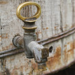 Old brass tap — Stock Photo #11026459