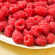 Red raspberryes — Stock Photo #11643601