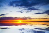Sea on sunset. — Stock Photo