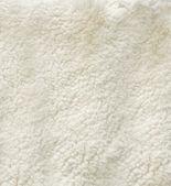 White curled sheep fur — Stock Photo