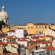 View of Alfama the oldest district in Lisbon, Portugal — Stock Photo