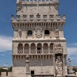 Belem tower in Lisbon, Portugal - Stock Photo
