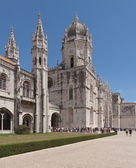 Mosteiro dos Jeronimos, old monastery in Belem; Lisbon, Portugal — Stock Photo