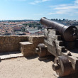 Old cannon in Castelo de Sao Jorge, Lisbon - Stock Photo