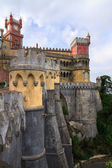 The Pena Palace in Sintra near Lisbon — Stock Photo