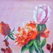 Roses,  oil painting on canvas — Stock Photo