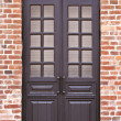 Wooden door - Stock Photo