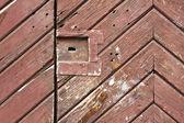 Textura de portão de madeira — Foto Stock