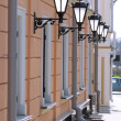 Street lamps — Stock Photo