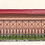 Wrought-iron fence — Stock Photo #11485100