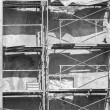 Scaffolding at building site — Stock Photo