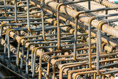 Concrete reinforcement steel — Stock Photo