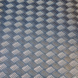 Diamond plate flooring — Stock Photo