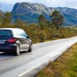 Car traveling — Stockfoto