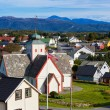 Norway town - Stock fotografie