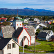 Norway town - Foto Stock