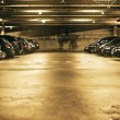 Stock Photo: Underground parking