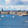 Stockholm cityscape — Stock Photo