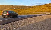 Auto che viaggia — Foto Stock