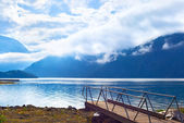Fjord landscape — Stock Photo