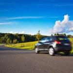 auto cestování — Stock fotografie