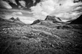 Norway mountains — Stock Photo
